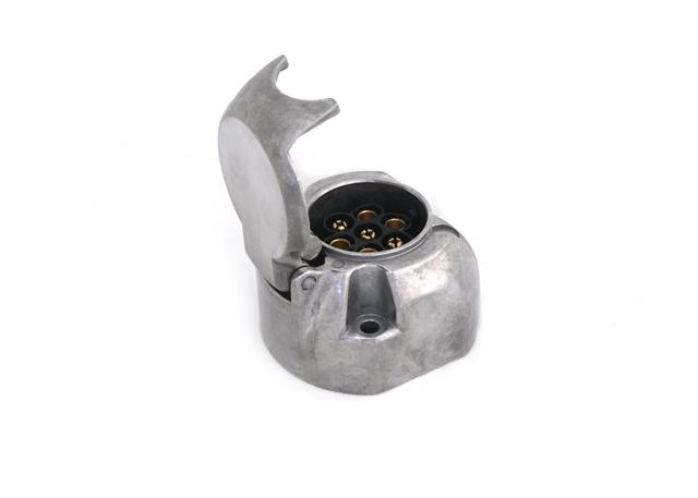 ALB0701 base de enchufe hembra aluminio